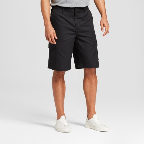 """Dickies Men's 11"""" Solid Cargo Shorts - Black - image 1 of 2"""
