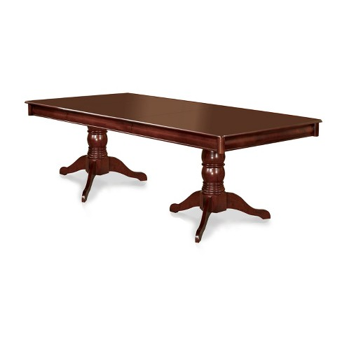 BielsburgPedestal Dining Table Antique Cherry - Sun & Pine - image 1 of 3