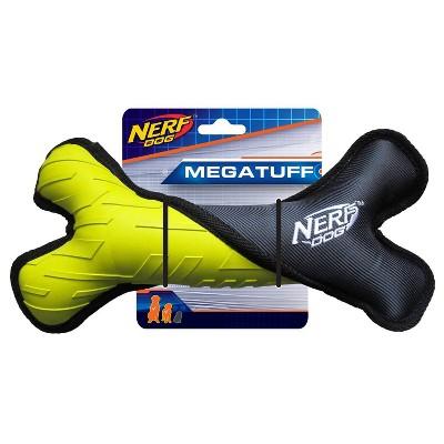 NERF Tough Plush Dog Toy - M