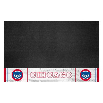 """MLB Chicago Cubs 1990 Retro Collection 26""""x42"""" Grill Mat"""