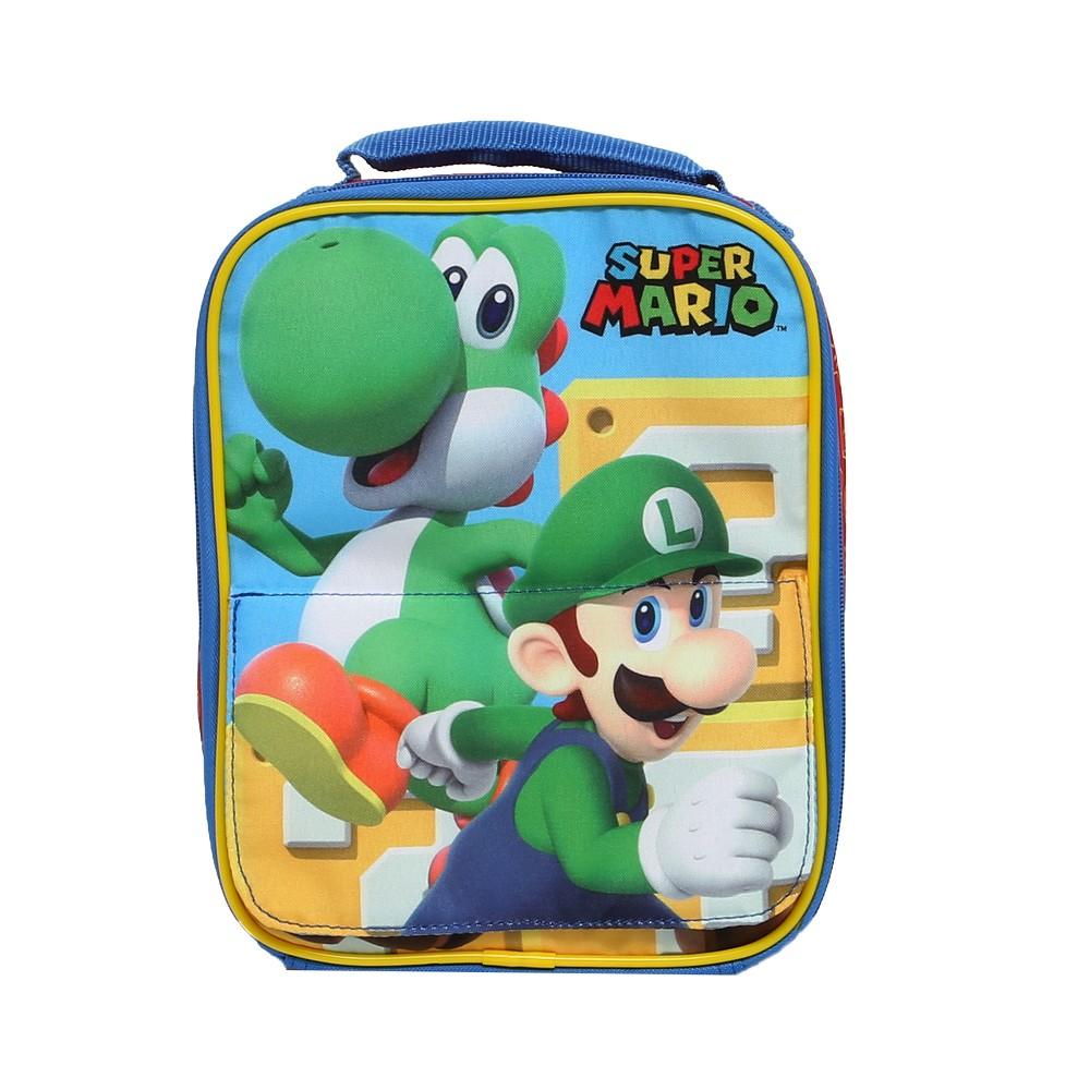 Image of Nintendo Kids' Lunch Bag - Super Mario, Red
