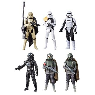 "Star Wars Force Link 2.0 3.75"" Figure 6pk Target Exclusive"
