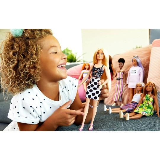 Barbie Fashionistas Polka Dots Fashion Doll image number null