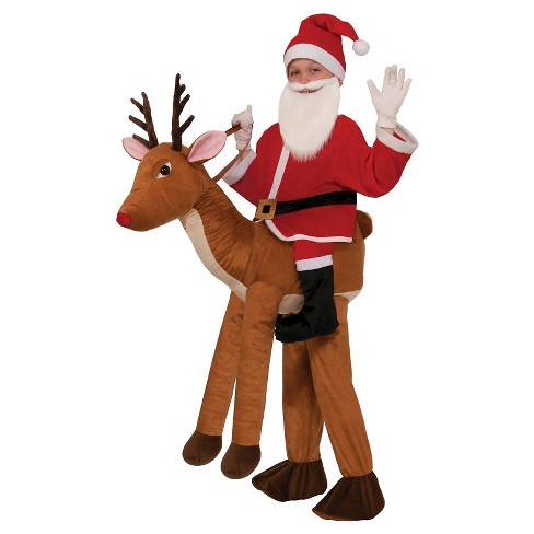Kids' Santa Riding a Reindeer Costume - image 1 of 1