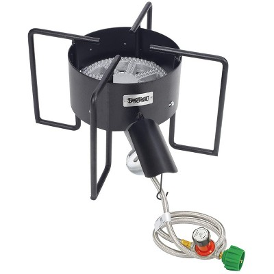 Bayou Classic  Outdoor Stove With Hose Guard 22-Inch Low Pressure Bayou Cooker KAB6