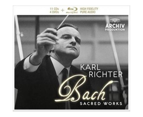 Munchener Bach-orche - Js Bach:Sacred Works (CD) - image 1 of 1