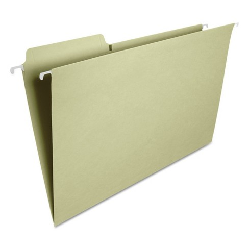 Smead® FasTab Hanging File Folders, 1/3 Tab, Legal, Moss Green, 20/Box - image 1 of 3