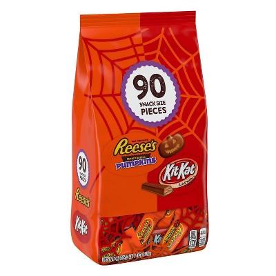 Reese's, Kit Kat Lovers Halloween Chocolate Variety Pack - 49oz/90ct