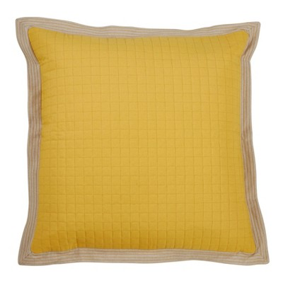 Down Filled Quilted Pillow - Saro Lifestyle