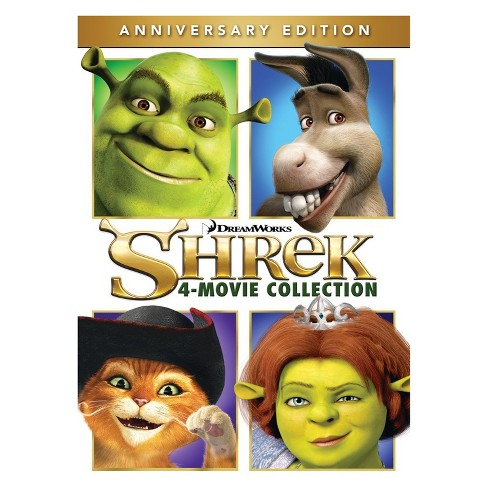 Shrek: 4 Movie Collection (DVD) - image 1 of 1