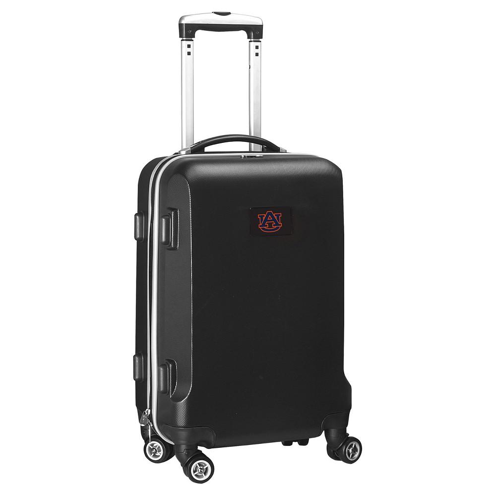 NCAA Auburn Tigers Black Hardcase Spinner Carry On Suitcase