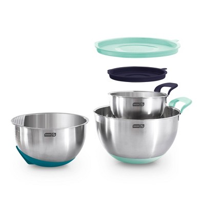 Dash 3pc Stainless Steel Mixing Bowl Set