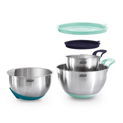 Dash 3pc Stainless Steel Mixing Bowl Set