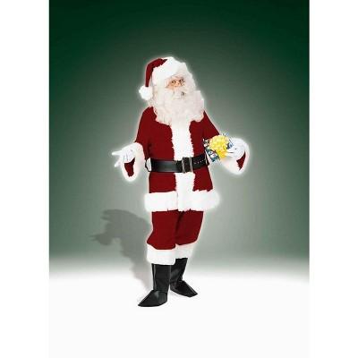 Santa Claus Adult Costume Deluxe Velvet Suit