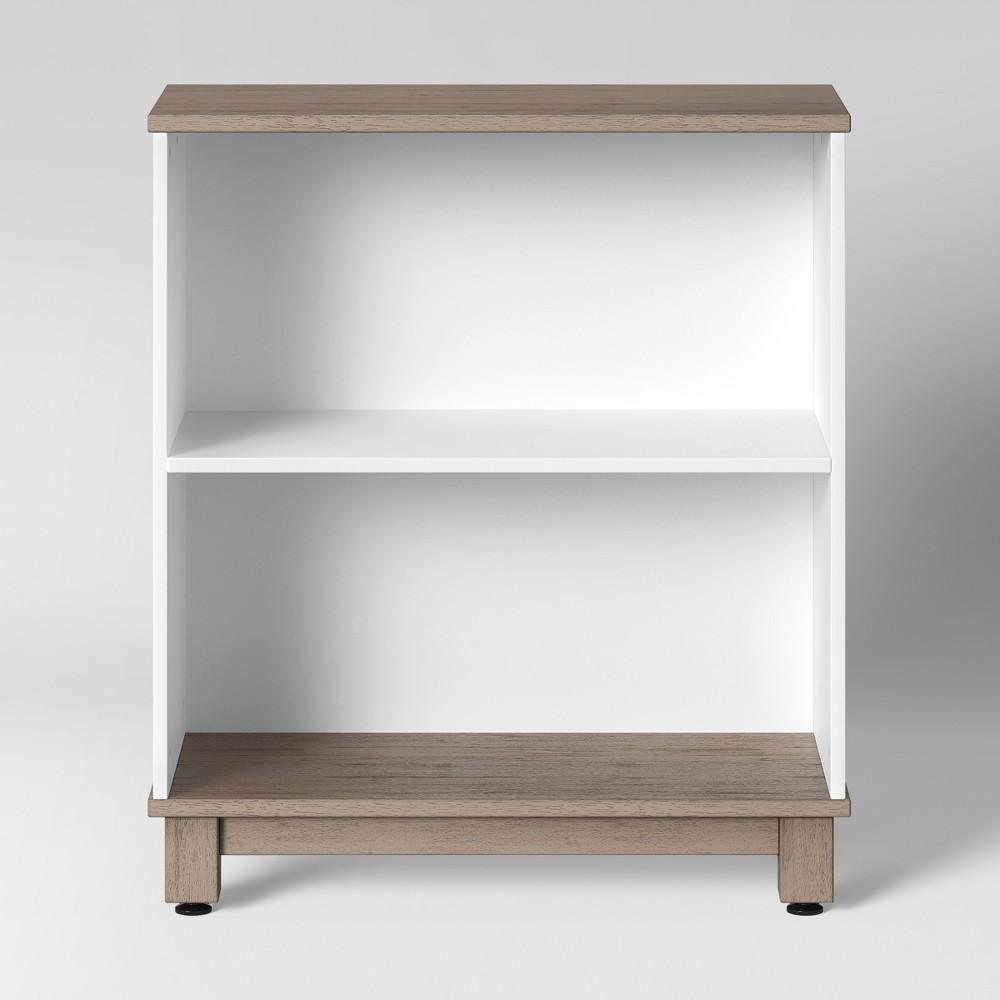 Image of 2 Shelf Robinson Bookcase White - Pillowfort