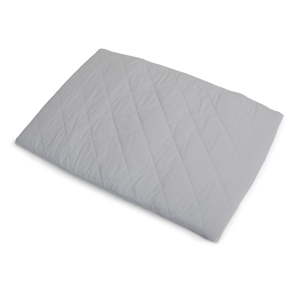 Image of Graco Quilted Pack 'n Play Playard Sheet - Stone Gray