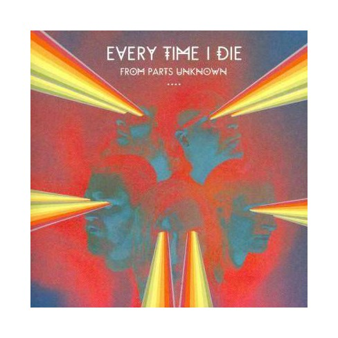 Every Time I Die - From Parts Unknown (CD) - image 1 of 1