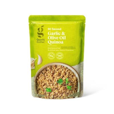 Garlic & Olive Oil Quinoa Microwavable Pouch - 8oz - Good & Gather™