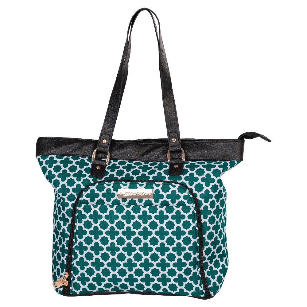 Jenni Chan Aria Broadway 18 Computer Tote - Green, Women's, Size: Large, Gray