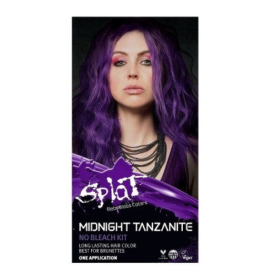 Splat Midnight Hair Color - Tanzanite - 6.0oz