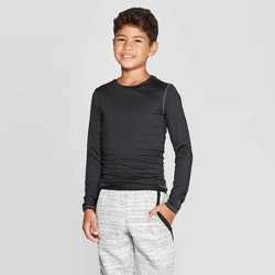 Boys' Power Core Compression Long Sleeve T-Shirt - C9 Champion®