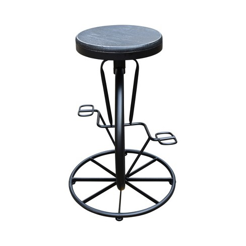 "Michaelo Adjustable Bicycle Wheel 34.75"" Barstool - Christopher Knight Home - image 1 of 4"