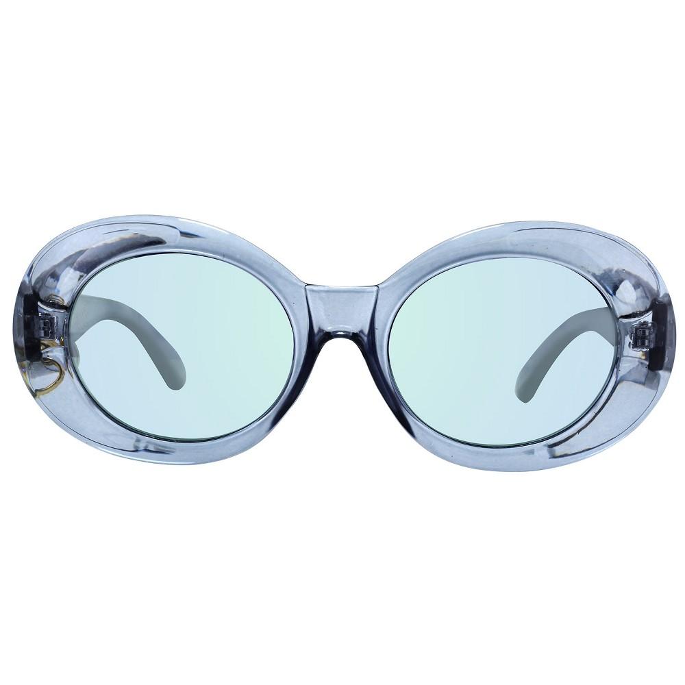 Women's Plastic Round Sunglasses - Wild Fable Blue