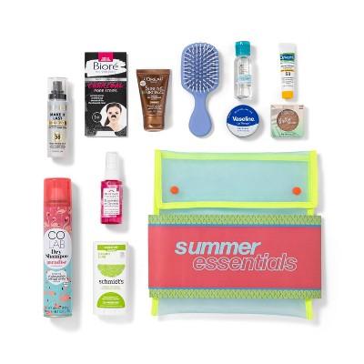 Target Beauty Capsule Summer Essentials Beauty Sample Box - 11pc