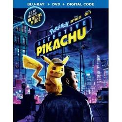 Pokemon: Detective Pikachu (Blu-Ray + DVD + Digital)