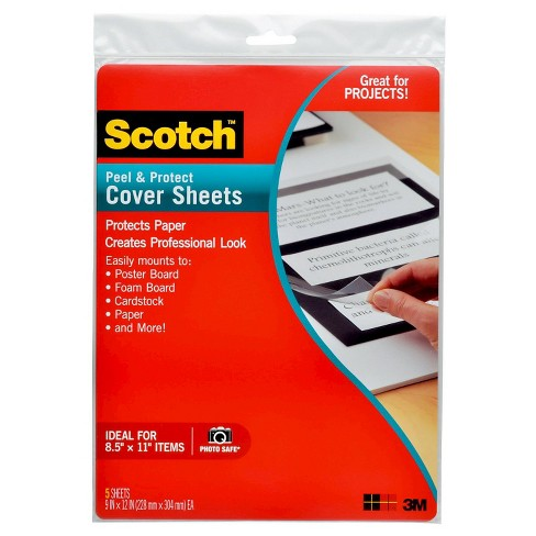 Scotch™ Laminating Sheets, Letter size, Single-Sided, 9 in x 12 in - image 1 of 1
