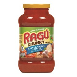 Ragu Chunky Tomato, Garlic & Onion Pasta Sauce - 24oz
