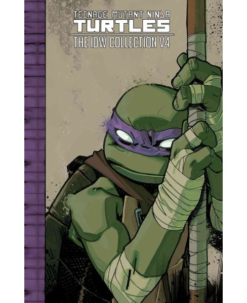 Teenage Mutant Ninja Turtles The IDW Collection 4 (Hardcover) (Kevin Eastman & Bobby Curnow & Tom Waltz - image 1 of 1