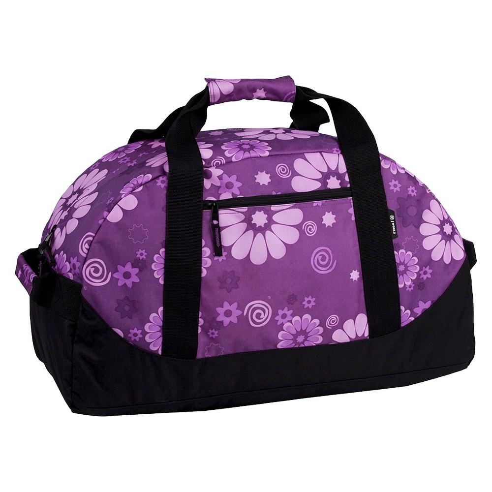 J World Lawrence 30 Sport Duffel Bag - Purple Flower