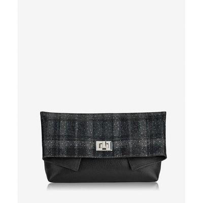 GiGi New York Black Claire Clutch Bag