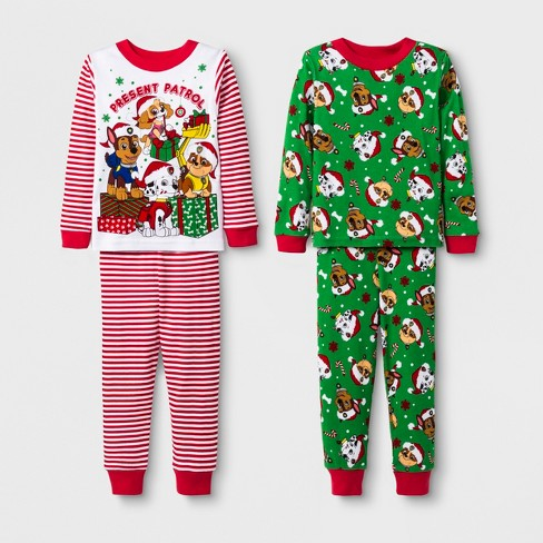 f9cad70713 Toddler Boys  PAW Patrol 4pc Cotton Pajama Set -...   Target