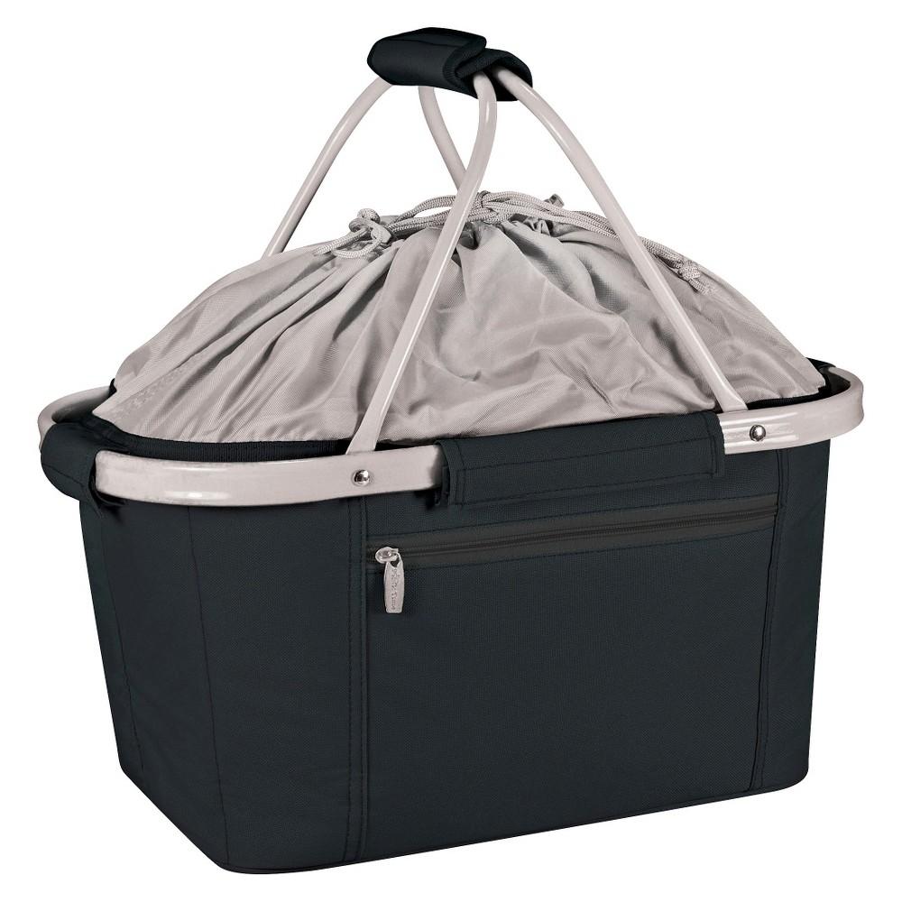 Image of Picnic Time Metro Collapsible Basket - Black, Gray Black