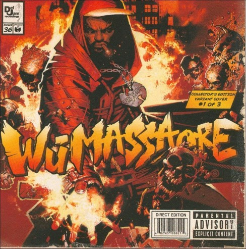 Various Artists - Wu Massacre [Explicit Lyrics] (CD) - image 1 of 1