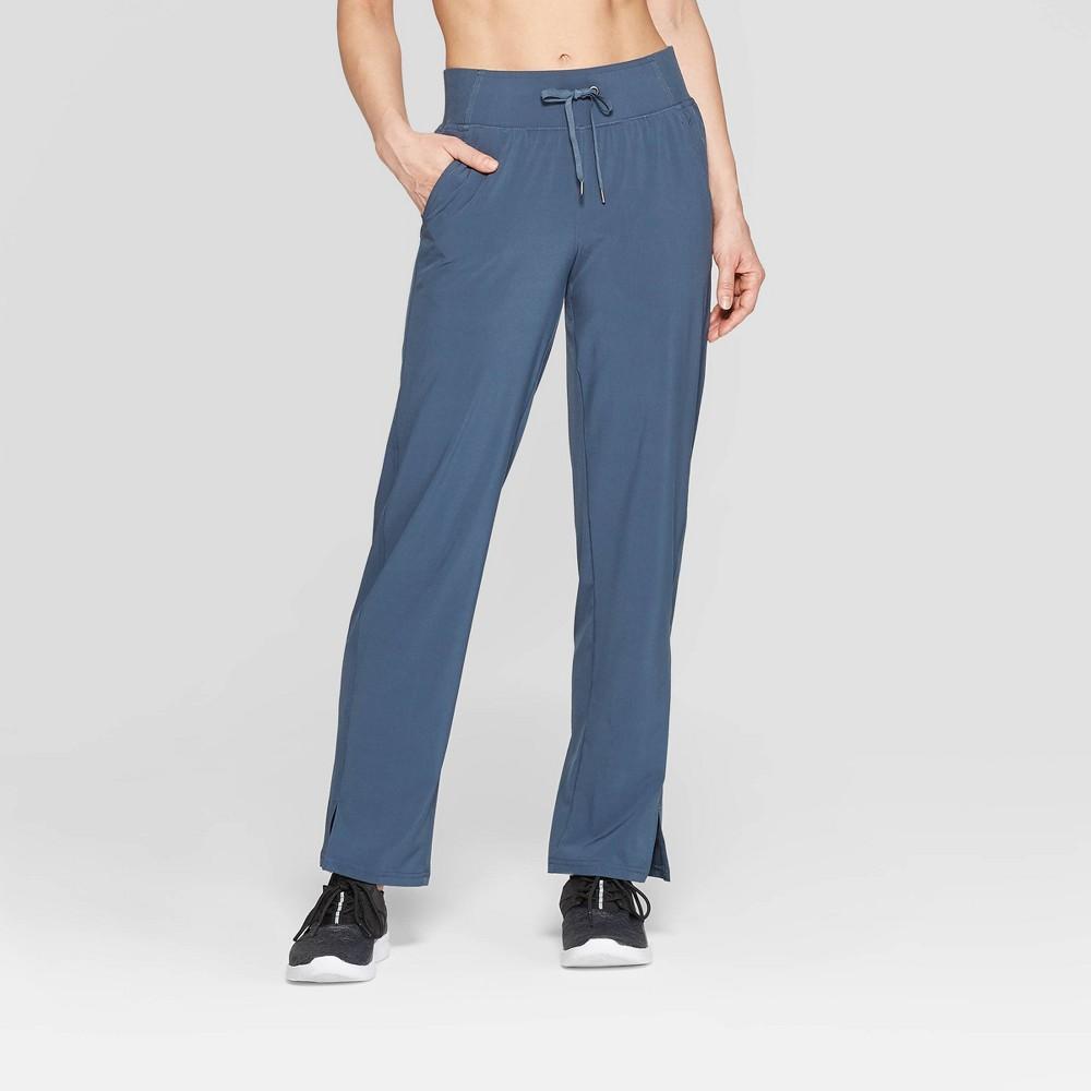 Women's Woven Drawstring Mid-Rise Pants - C9 Champion Blue Gray XL