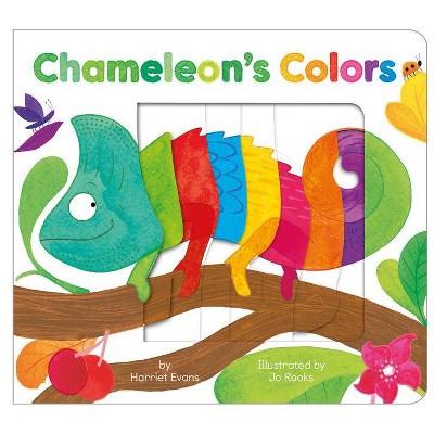 Chameleon's Colors - by  Harriet Evans (Board Book)
