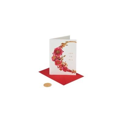 Christmas Card Wreath - PAPYRUS