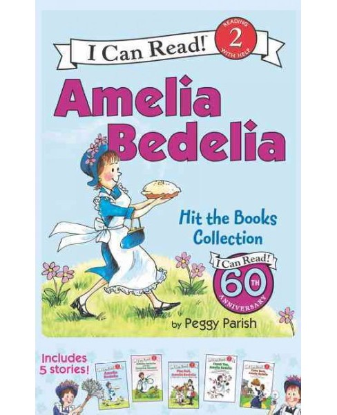 Amelia Bedelia Hits the Books Collection (Vol 1) (Paperback) (Peggy Parish) - image 1 of 1