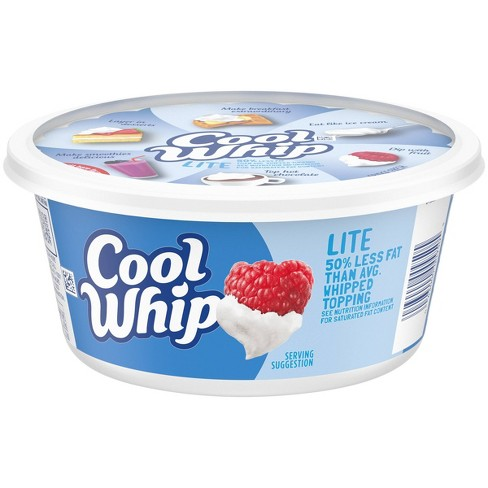 Cool Whip Lite Frozen Whipped Topping - 8oz - image 1 of 4