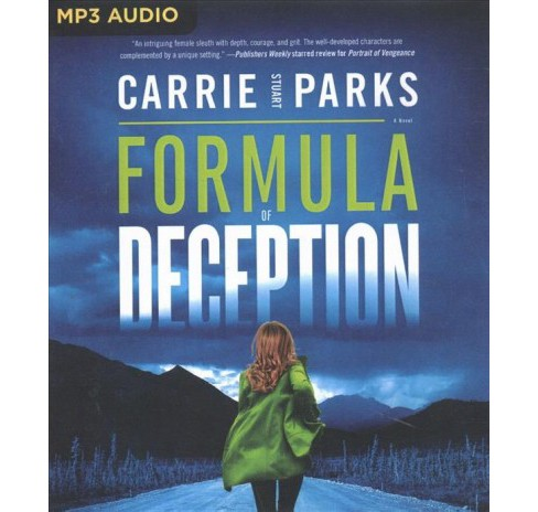 Formula of Deception -  by Carrie Stuart Parks (MP3-CD) - image 1 of 1