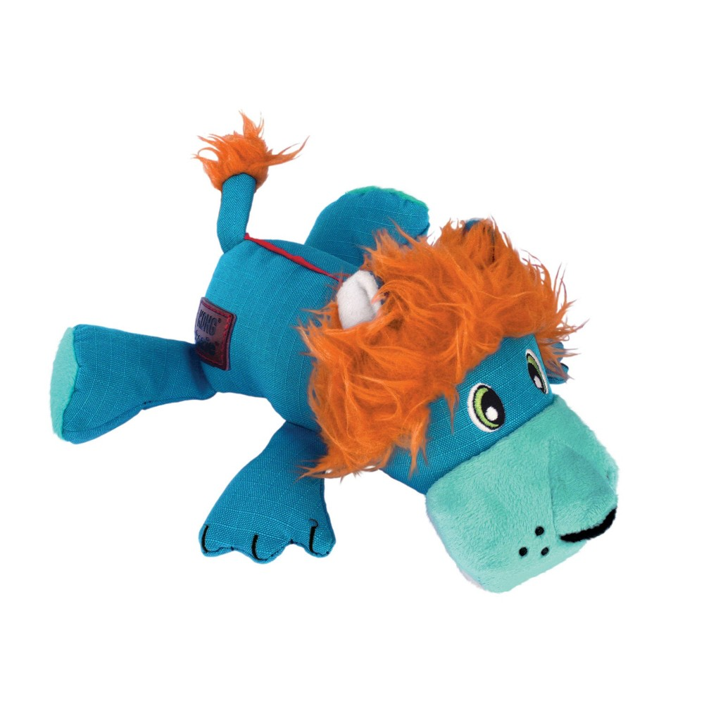 Kong Cozie Ultra Lucky Lion Dog Toy M