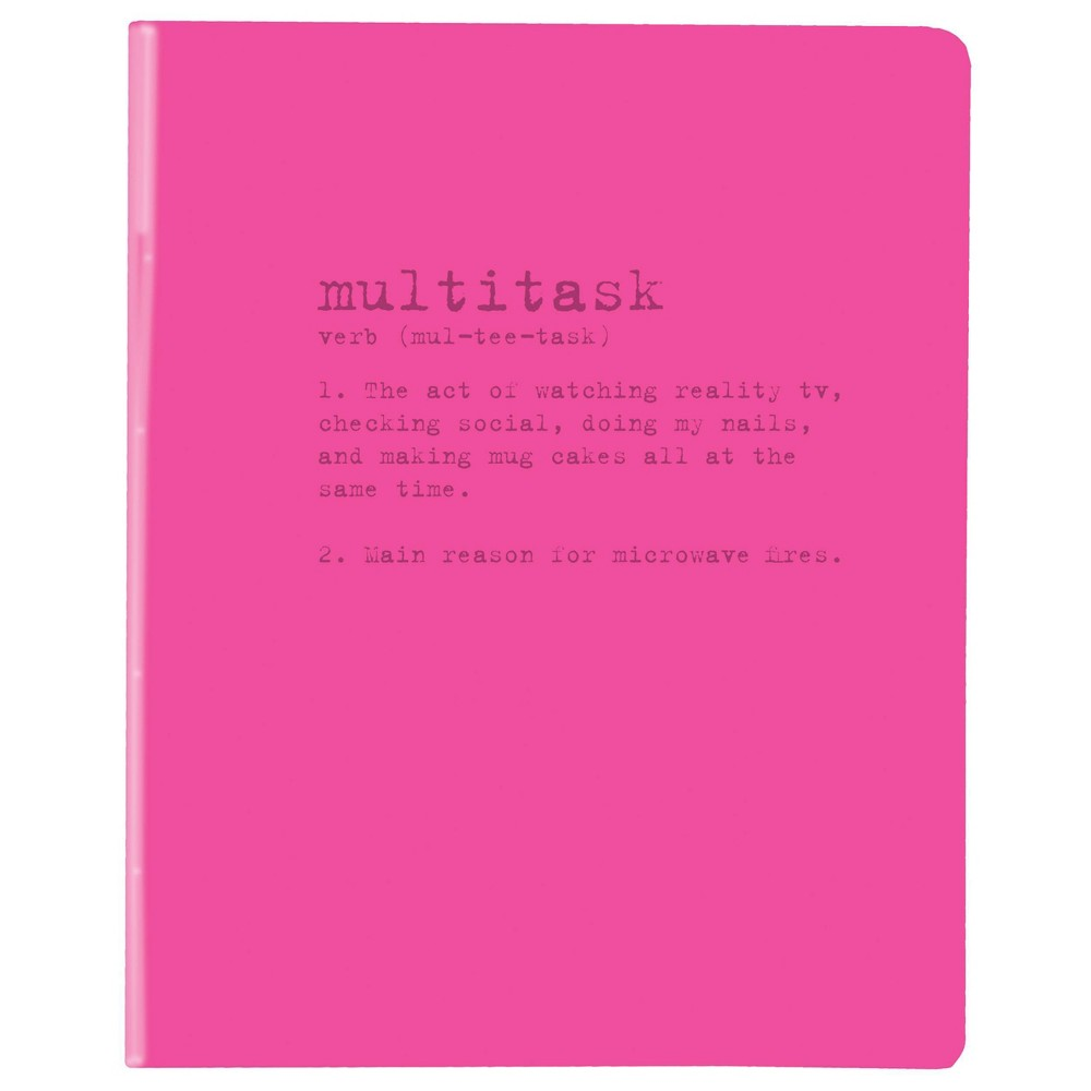"Image of ""Lined Journal 6"""" x 8"""" PVC Multitask - Graphique"""