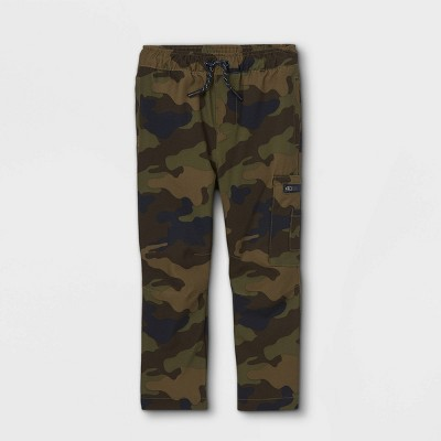 Toddler Boys' Quick Dry Poplin Pull-On Jogger Chino Pants - Cat & Jack™