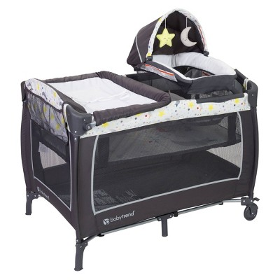 Baby Trend Lil Snooze Deluxe II Nursery Center - Twinkle Twinkle Little Moon
