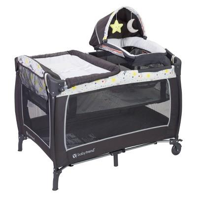 Baby Trend Lil Snooze Deluxe II Nursery Center - Twinkle Twinkle Little Moon