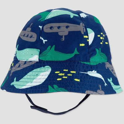 Baby Boys' Whale Swim Hat - Just One You® made by carter's Navy 6-12M