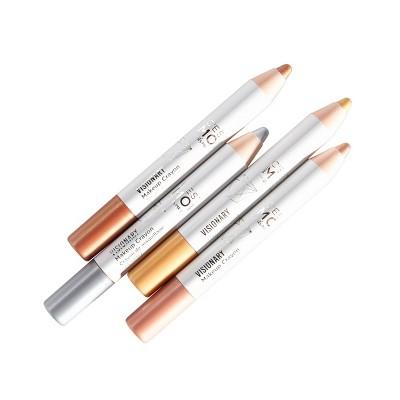 C'est Moi Visionary Metallic Makeup Crayon Set - 4ct